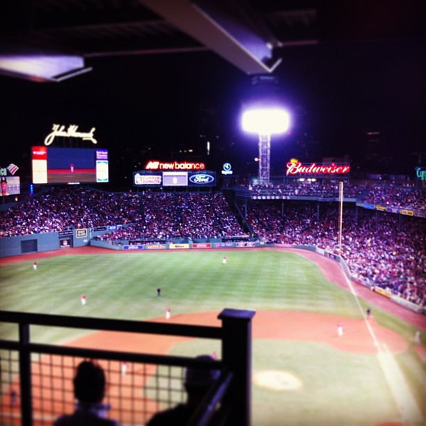 Red Sox Win #fenway #boston #redsox #yankees #baseball