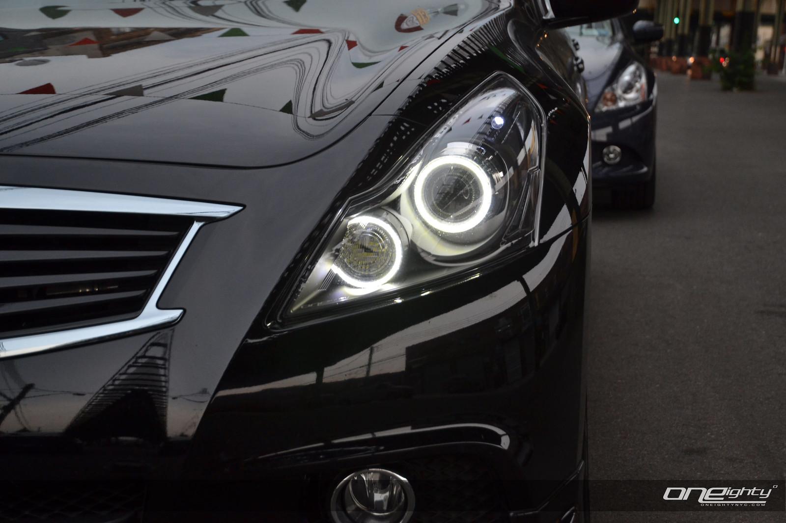 Vendor ONEighty G37 SEDAN custom headlight modification ...