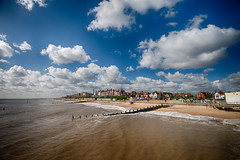 View of Southwold in Suffolk