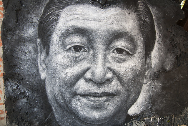 Xi Jinping 习近平, painted portrait DDC_8716_1