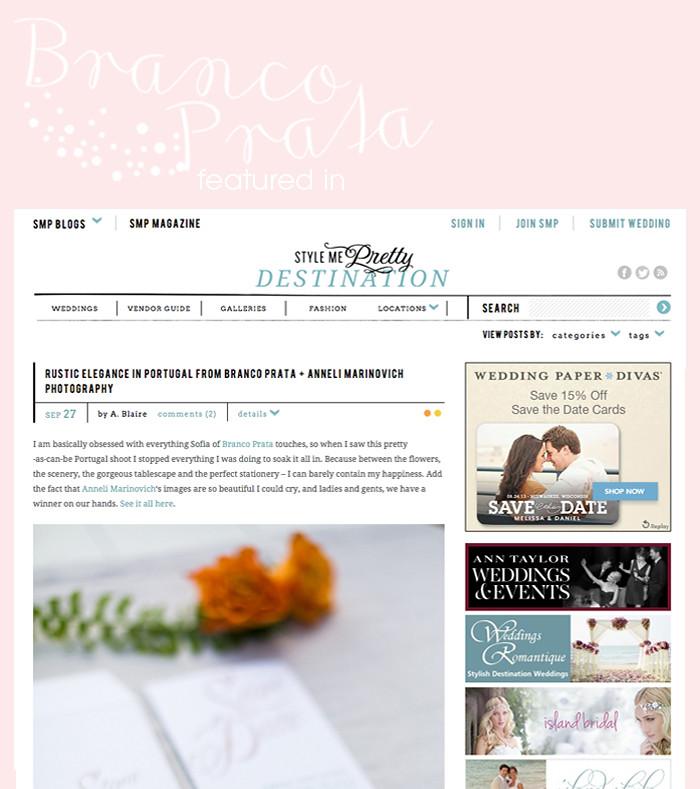 Featured on Stylemepretty