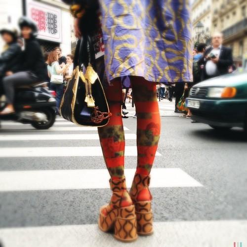 Fashion week. #RightNow in #Paris.