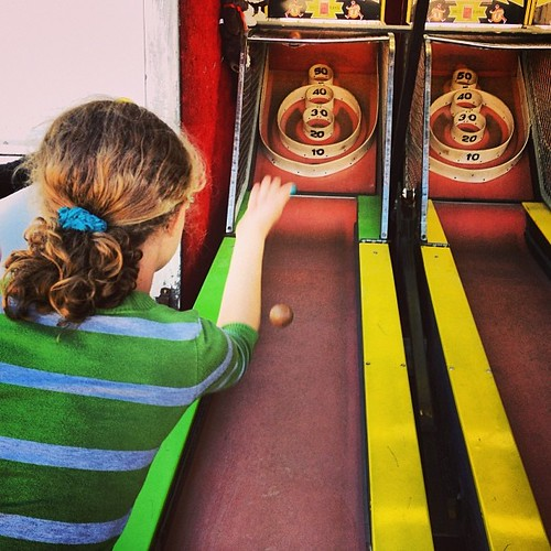 Skee ball rocks! #carpfair