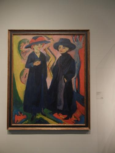 DSCN7884 _ Two Women, 1911-1912/1922, Ernst Ludwig Kirchner (1880-1938), LACMA