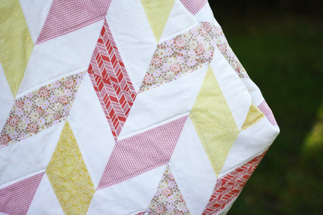 Michael Ann Made || Summertime Herringbone Quilt