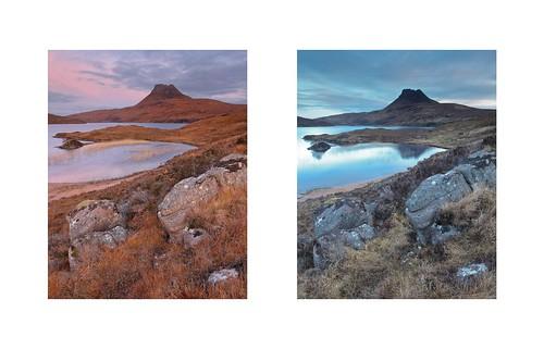 scotland diptych westerross stacpollaidh inverpolly lochlurgainn
