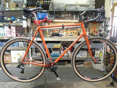 62cm Black Mountain Cycles/Falconer Cross