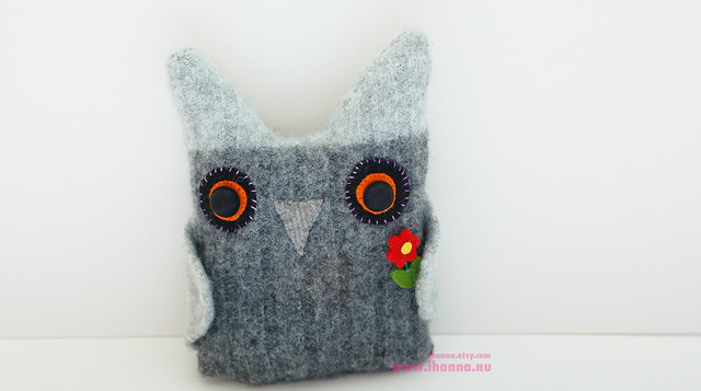 Wool Owl #3 in da house