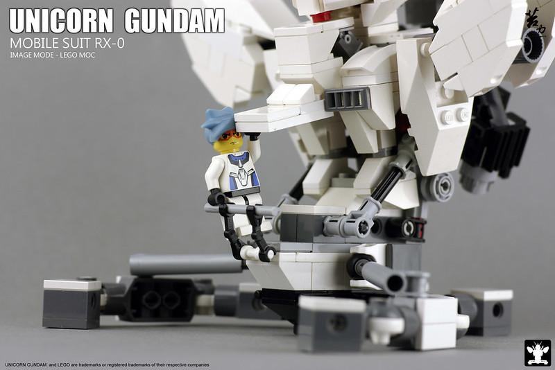 LEGO UNICORN GUNDAM 0007