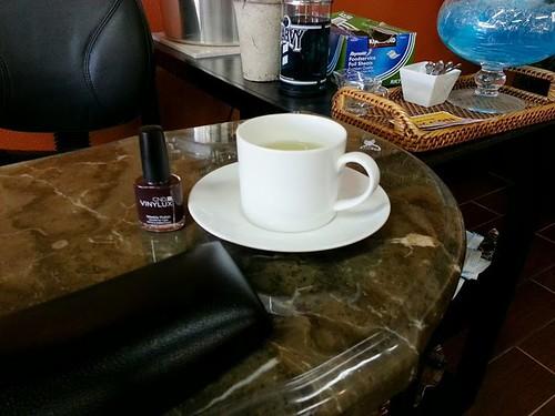 Tea and A Manicure