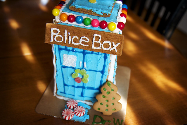 Dr Who Gingerbread House