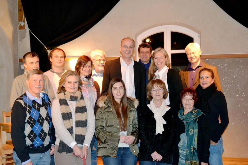 Aufstellung der Gemeinderatsliste der SPD Wörthsee mit Landratskandidatin Julia Ney