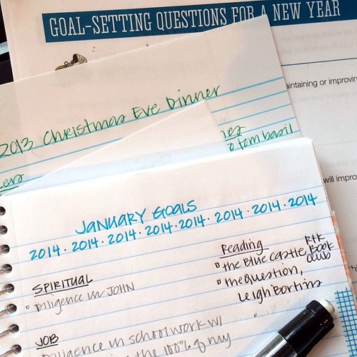 Making lists. Checking them twice.