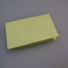 การพับกระดาษเป็นรูปเรือใบ (Origami Boat – 船の折り紙) 002