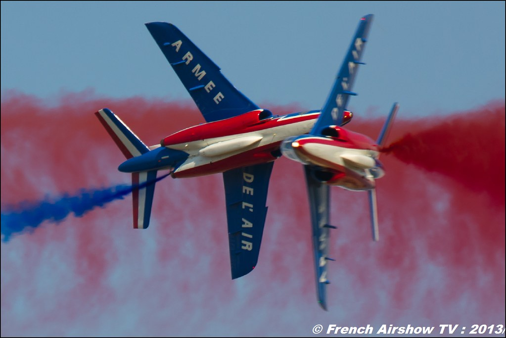 Patrouille de France 60 ans au Free Flight World Masters Valence 2013, Meeting aerien 2013