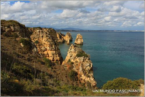 Ponta da Piedade. Portugal. Algarve 2012.