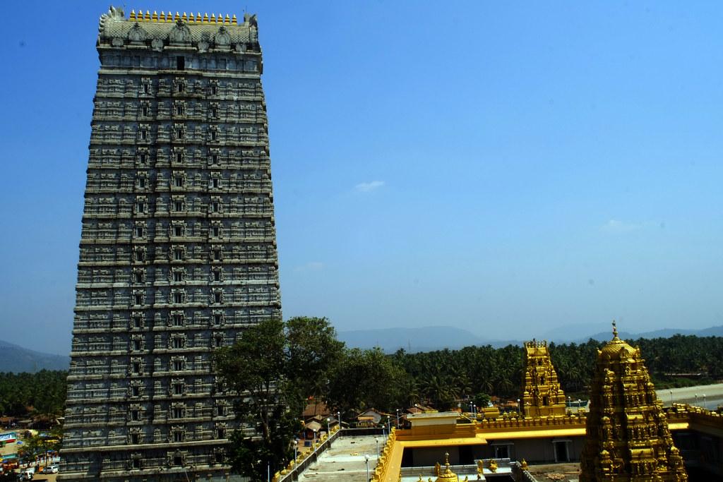 The 237.5-feet-tall Raja Gopura