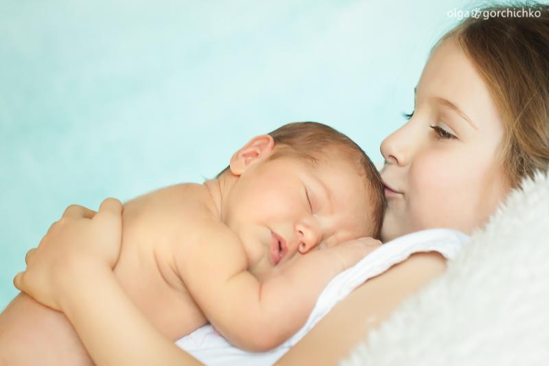 Фотосессия новорожденной Юли. Детский фотограф Гродно