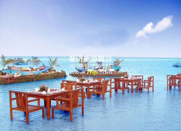 斐济沃里克度假村(Warwick Fiji Resort & Spa)泳池餐厅