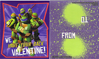 PAPER MAGIC GROUP :: Nickelodeon TEENAGE MUTANT NINJA TURTLES ; VALENTINE'S MAIL BOX ix (( 2014 ))