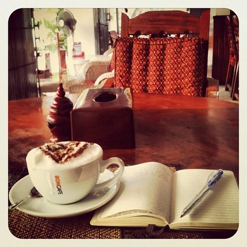 Un café en Siem Riep #camboya