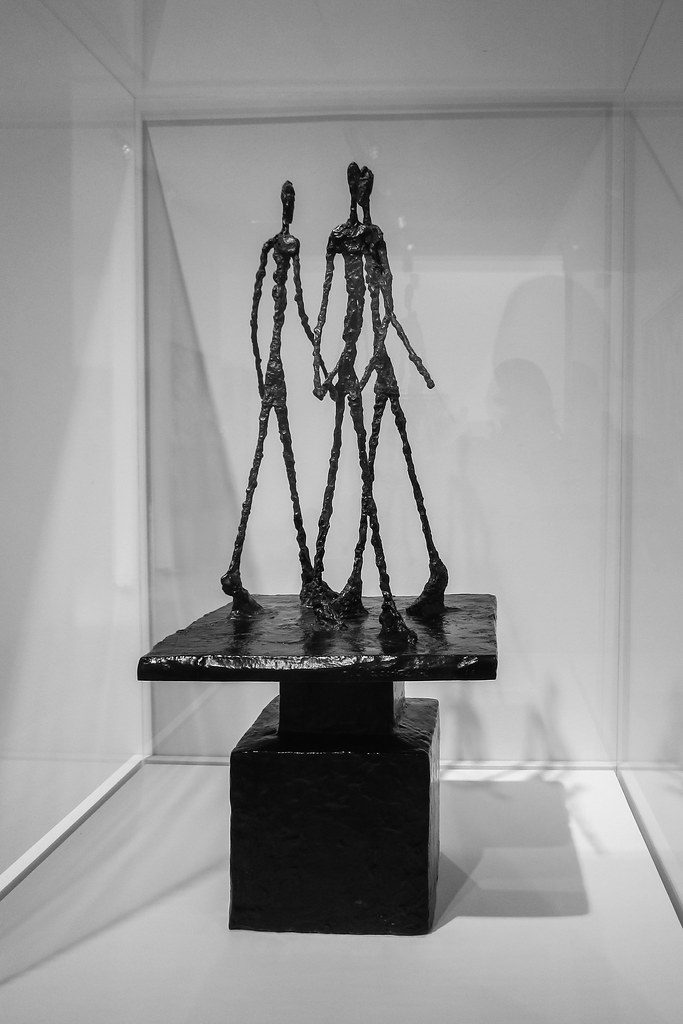 Alberto Giacometti, Three Men Walking, 1948-49