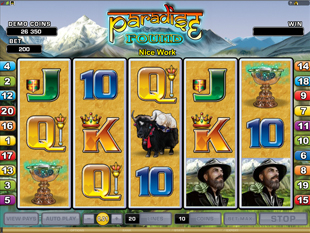 Paradise Found slot game online review