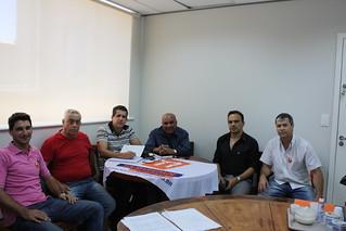Firmino Firmeza (ao centro) é pré-candidato pelo Solidariedade a deputado federal