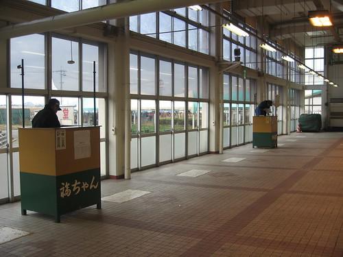 金沢競馬場のスタンド奥の方にある福ちゃんと競馬道場