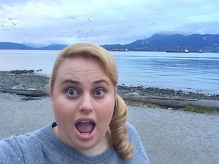 Rebel Wilson Selfie: LA Lakers Sweatshirt