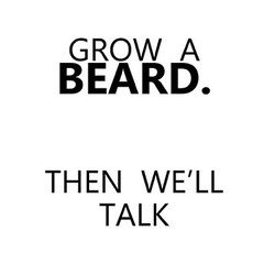 Lol! Kinda sums it up! ;) Grow a beard guys! #beards #gay #guys