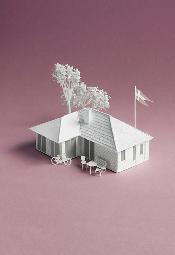 paper-sculpture-house