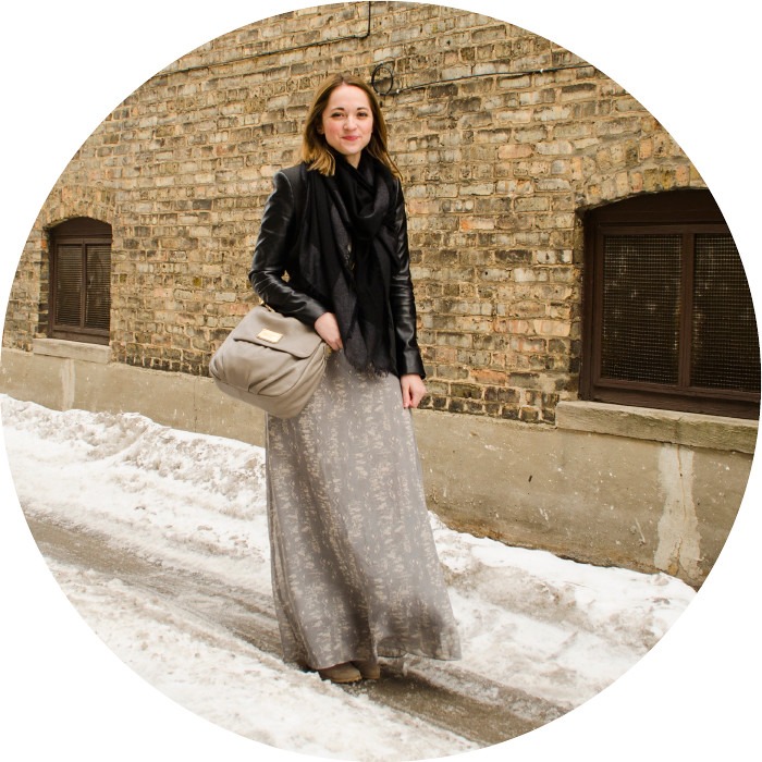 still winter, layered maxi dress, dash dot dotty, still snow