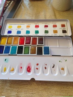 Kremer watercolor set 1