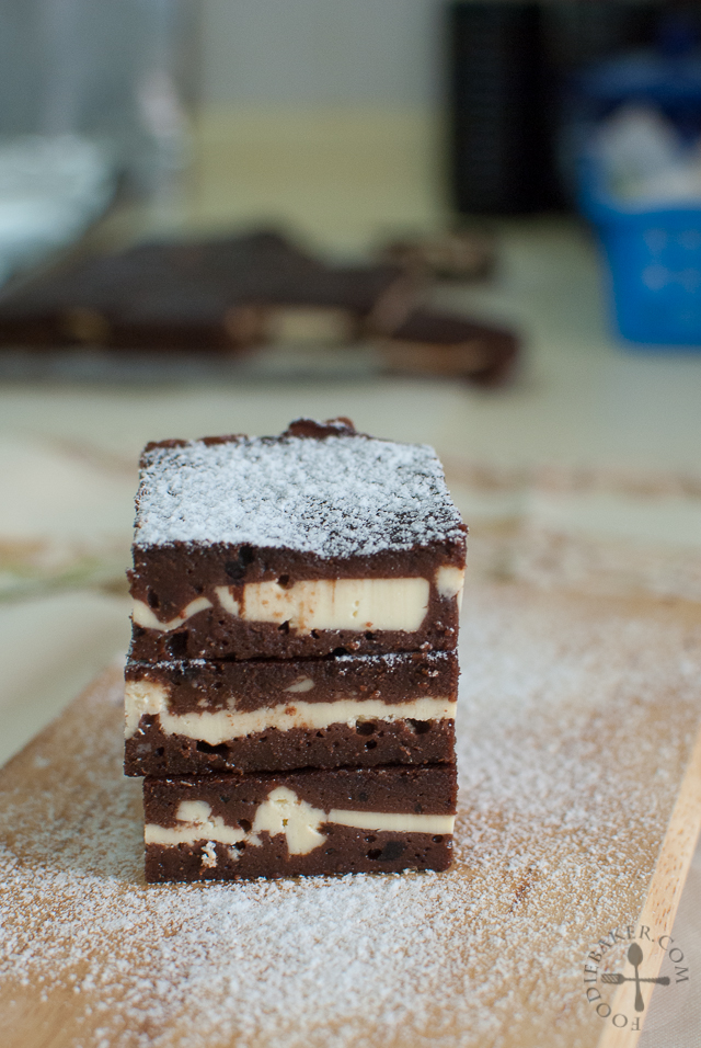Nigella Cream Cheese Brownies