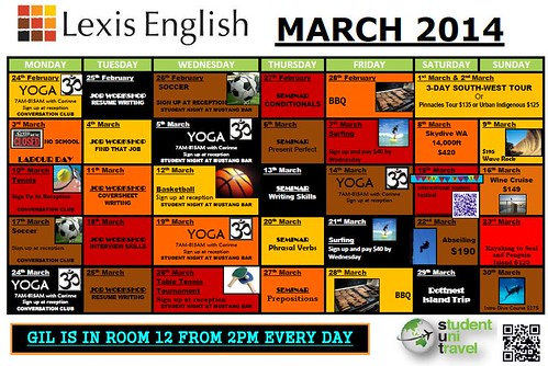 Lexis Activity March