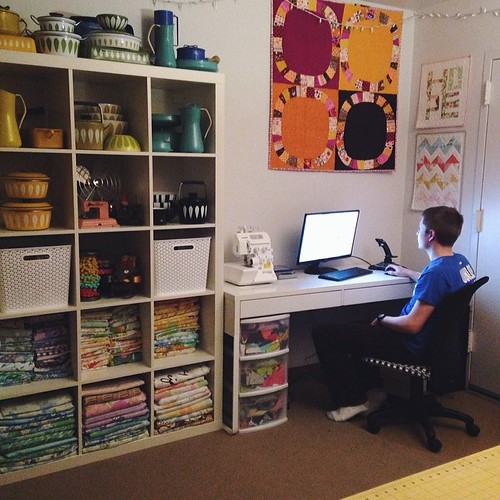 Sewing Room Redux by Jeni Baker