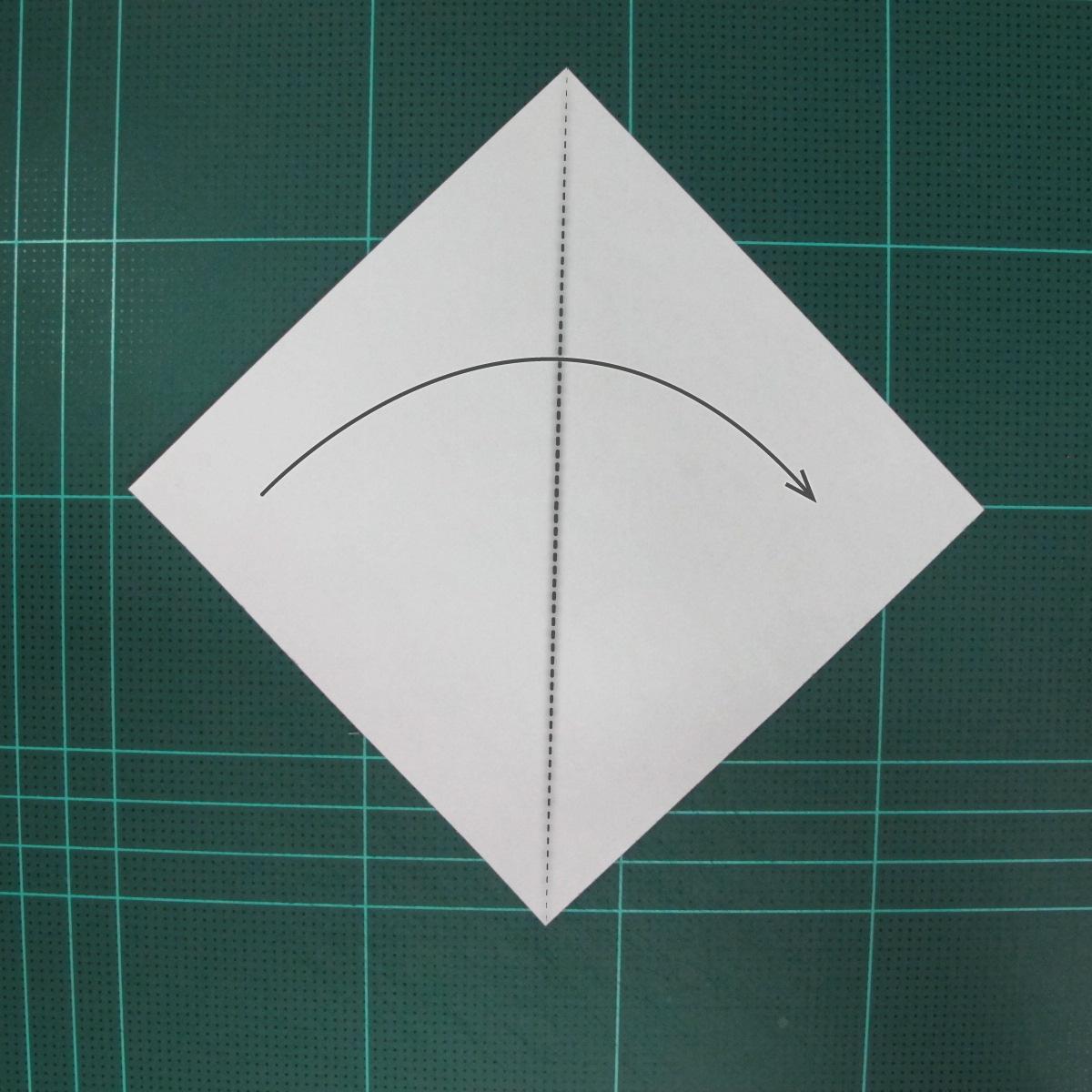 การพับกระดาษเป็นนกกระสา (Origami Pelican) 001