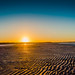 Nudgee Beach Sunset by SamPetherbridge