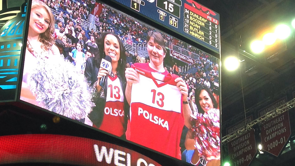 Polish Heritage Night at the Wizards