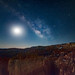 Milky Way over the Bryce Canyon at Sunset Point, UT by Dr. P.Yang
