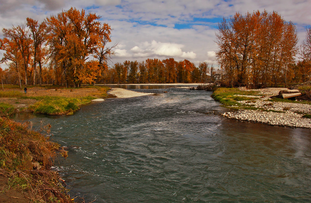 Fish Creek Park In The Fall