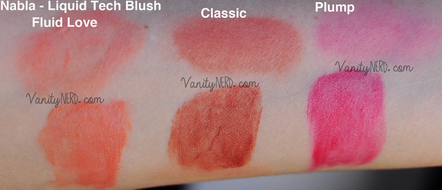 Nabla - Liquid Tech Blush Swatch