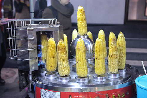 Korean Street Food - Corn