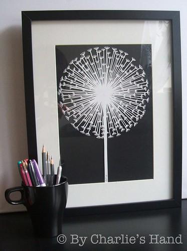 cut-paper-dandelion-clock