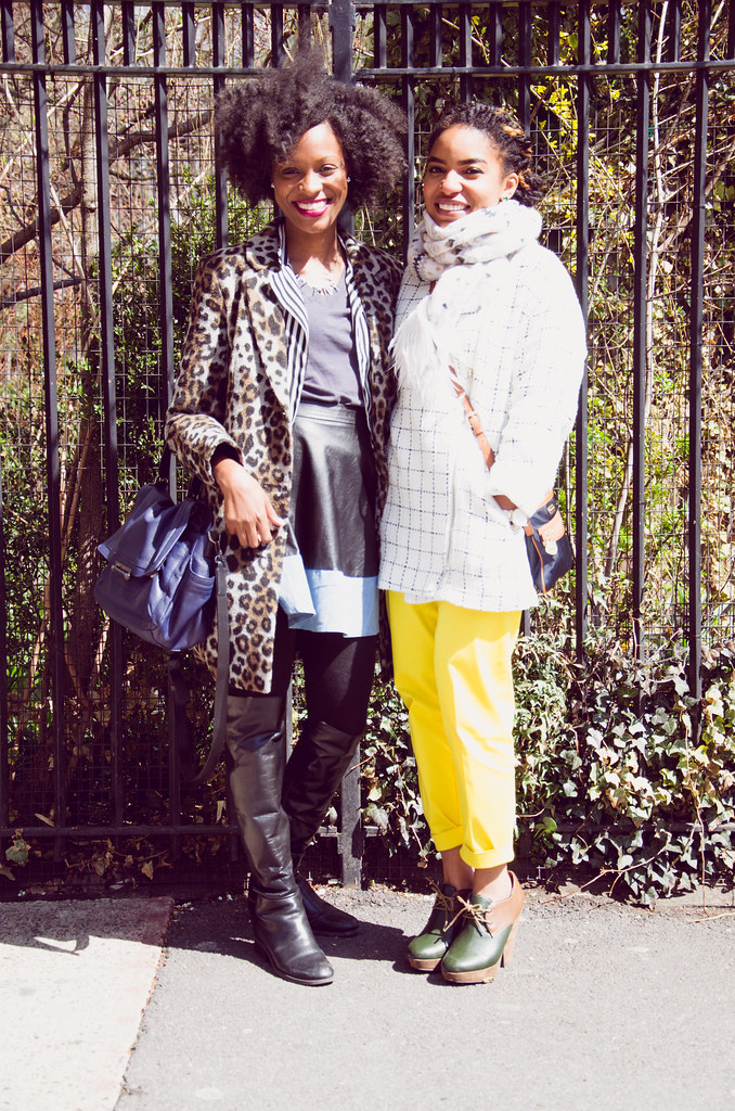 Lifestyle Blogger Krystal of The Feisty House and Beauty Blogger Desiree of Brownstone Bazaar