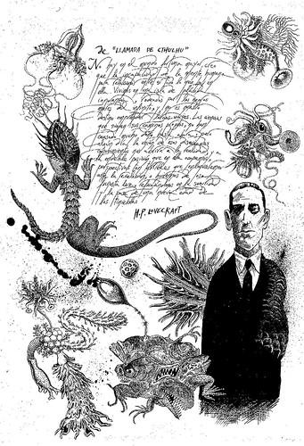 001- Necronomicon ilustrado- LLuïsot