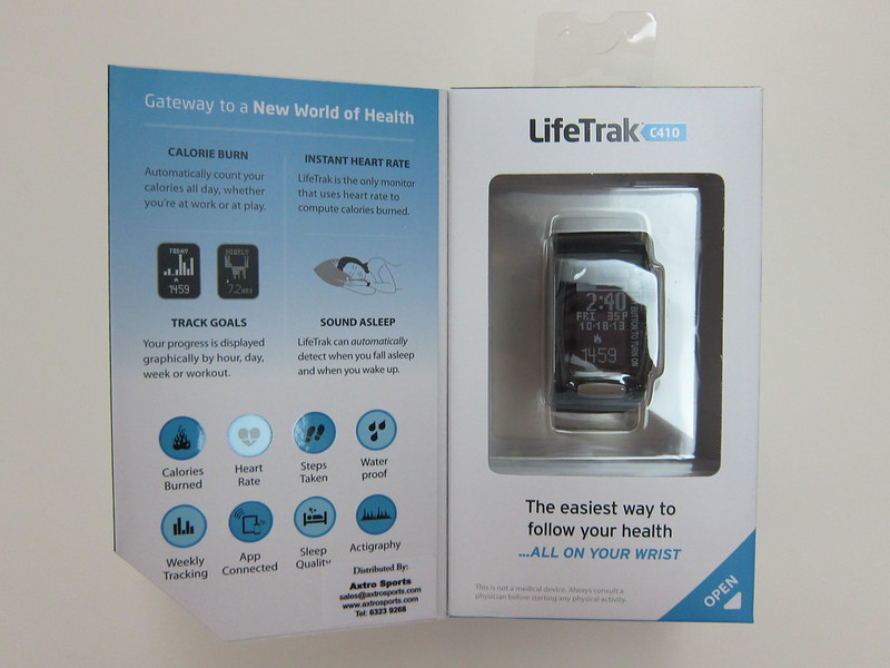 LifeTrak Zone C410 - Box Open