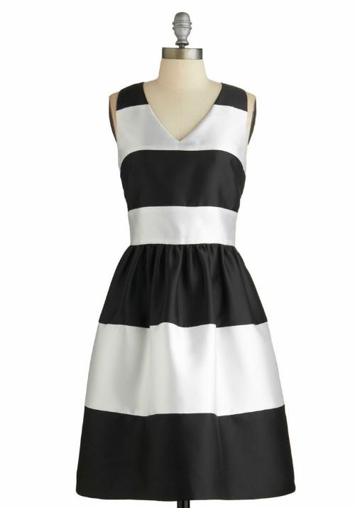 Modcloth Fated Fete Dress