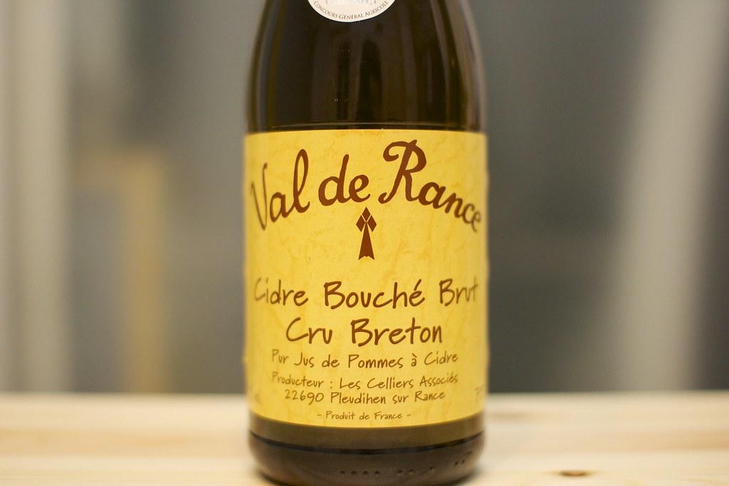 Val de Rance Cidre Bouché Brut Cru Breton